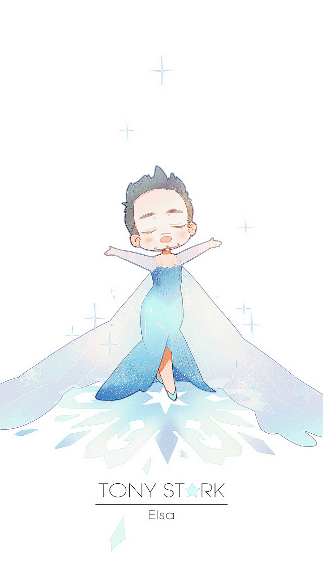 Princess Tony Stark Fan Art