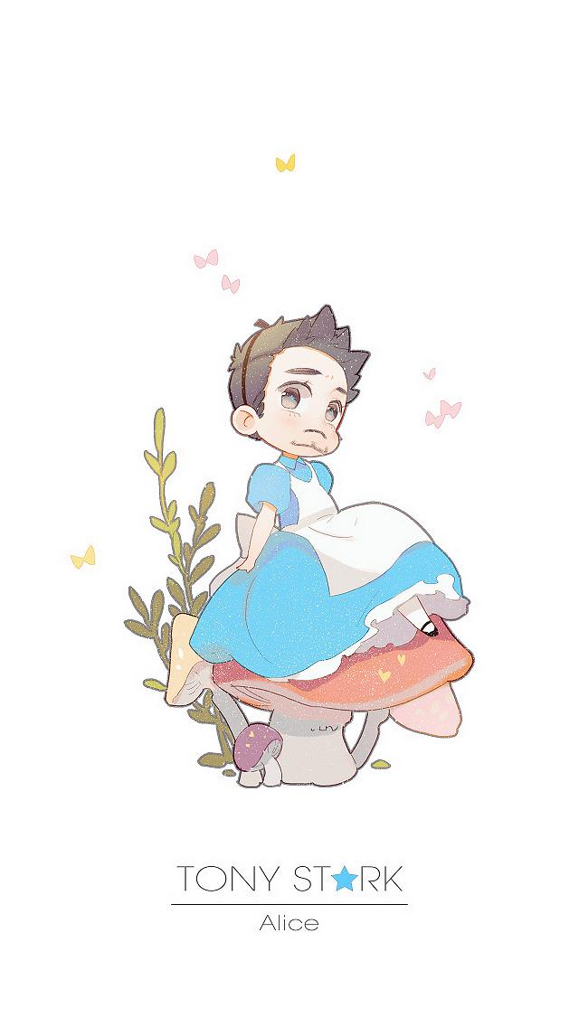 Princess Tony Stark Fan Art