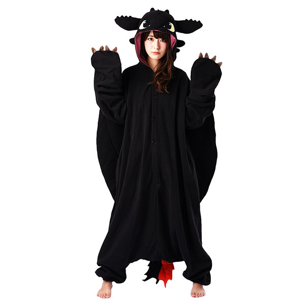 How to Train Your Dragon Toothless Kigurumi