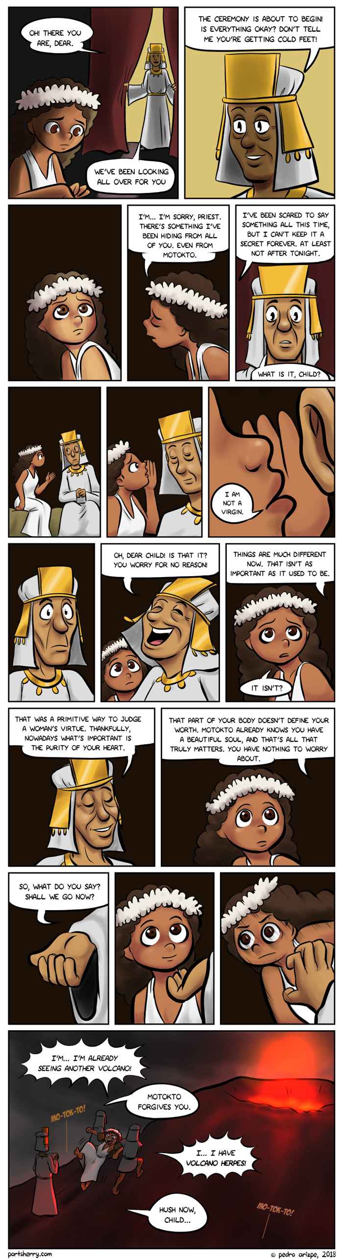 True Virtue Comic