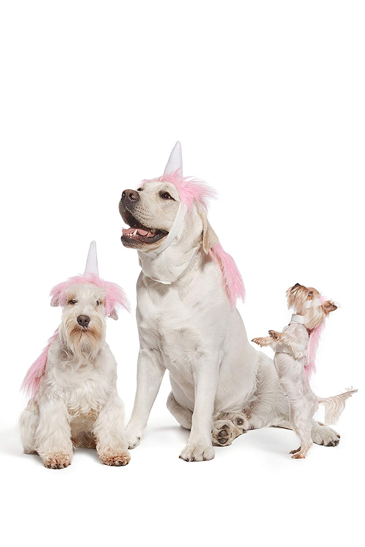 Pink Unicorn Dog Costume