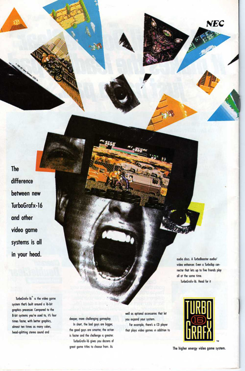 Nostalgic Video Game Magazine Ads