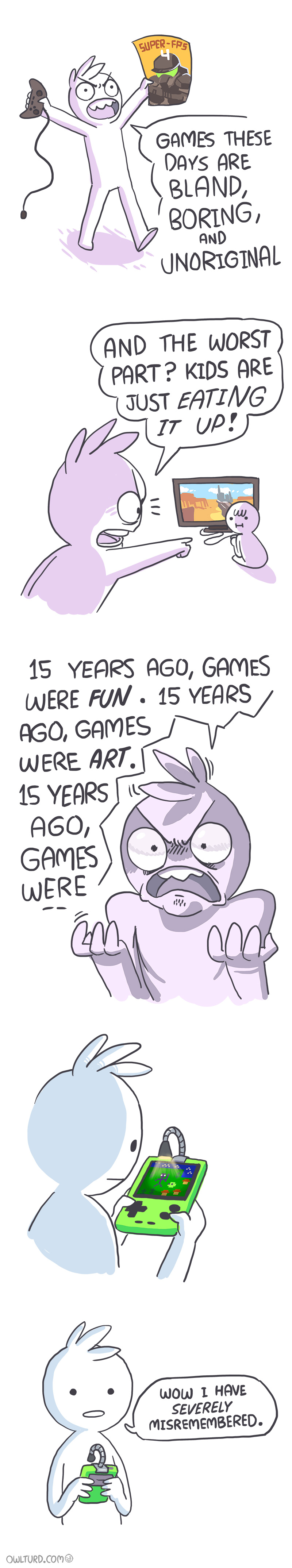 Video Games These Days Comic
