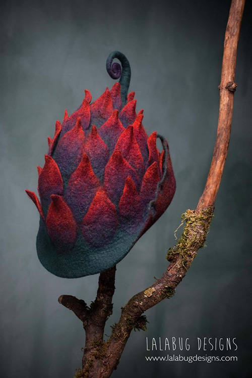 Whimsical Felted Hats