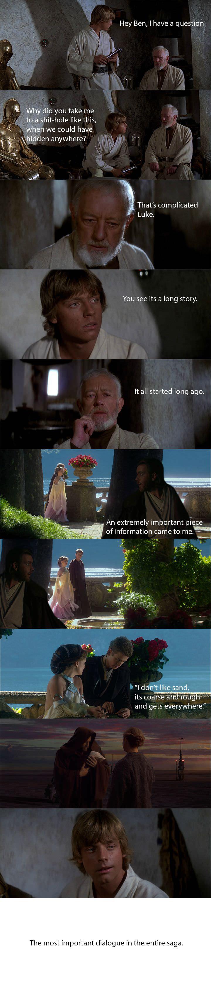 Why Obi-Wan Took Luke To Tatooine