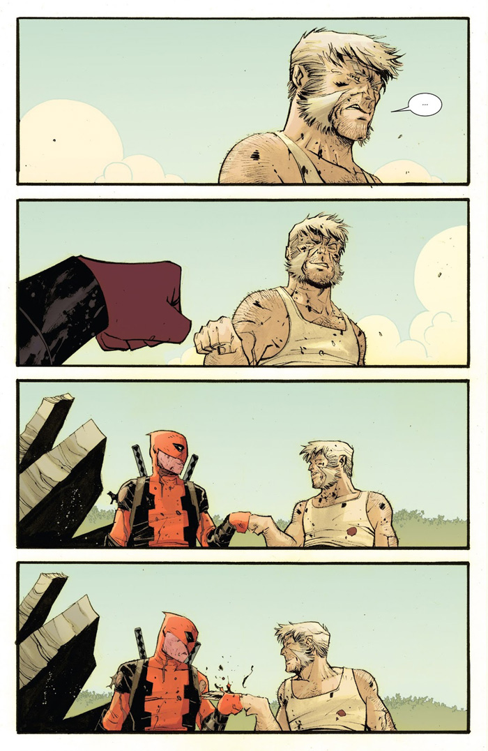 Deadpool & Wolverine Fist Bump