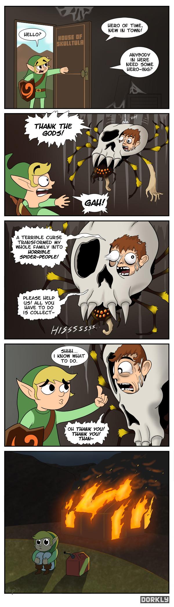 Legend of Zelda: Ocarina of Nightmares