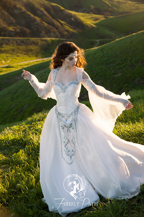 The Legend of Zelda Inspired Wedding Dress