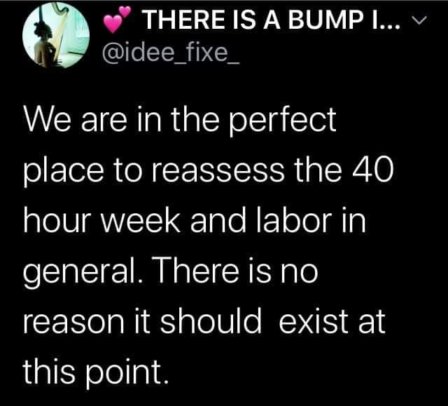 The 40 Hour Work Week