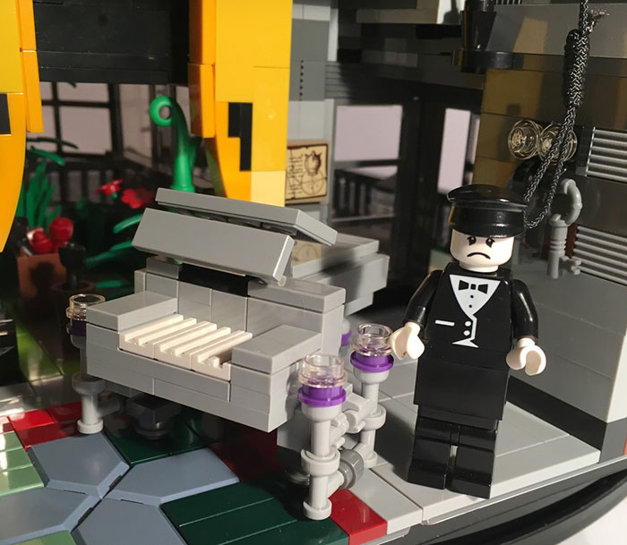 The Addams Family LEGO Mansion