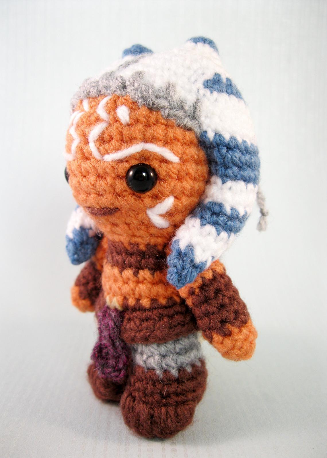 Crochet Ahsoka Tano from Star Wars
