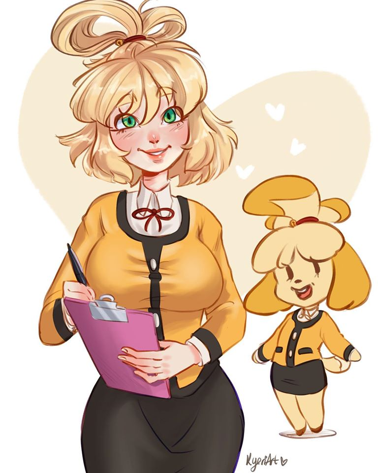 Animal Crossing: New Horizons Humanized Fan Art