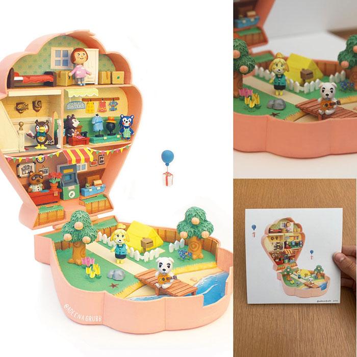 Animal Crossing: New Horizons Polly Pocket