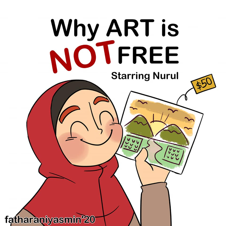 Art is Not Free