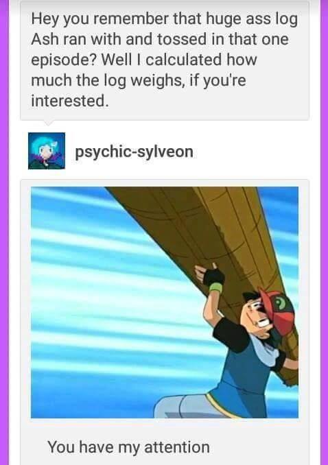 Ash Ketchum from Pok�mon is Strong AF