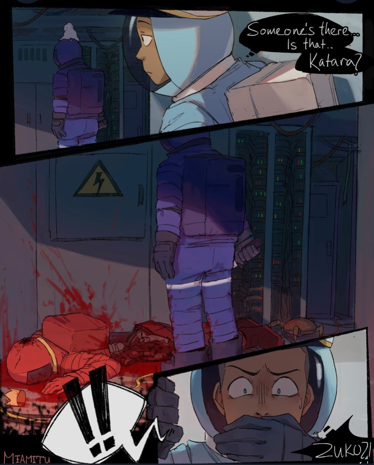 Avatar: The Last Airbender x Among Us Comic