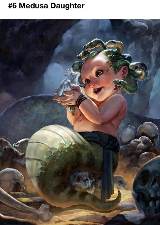 Baby D&D Monsters Fan Art