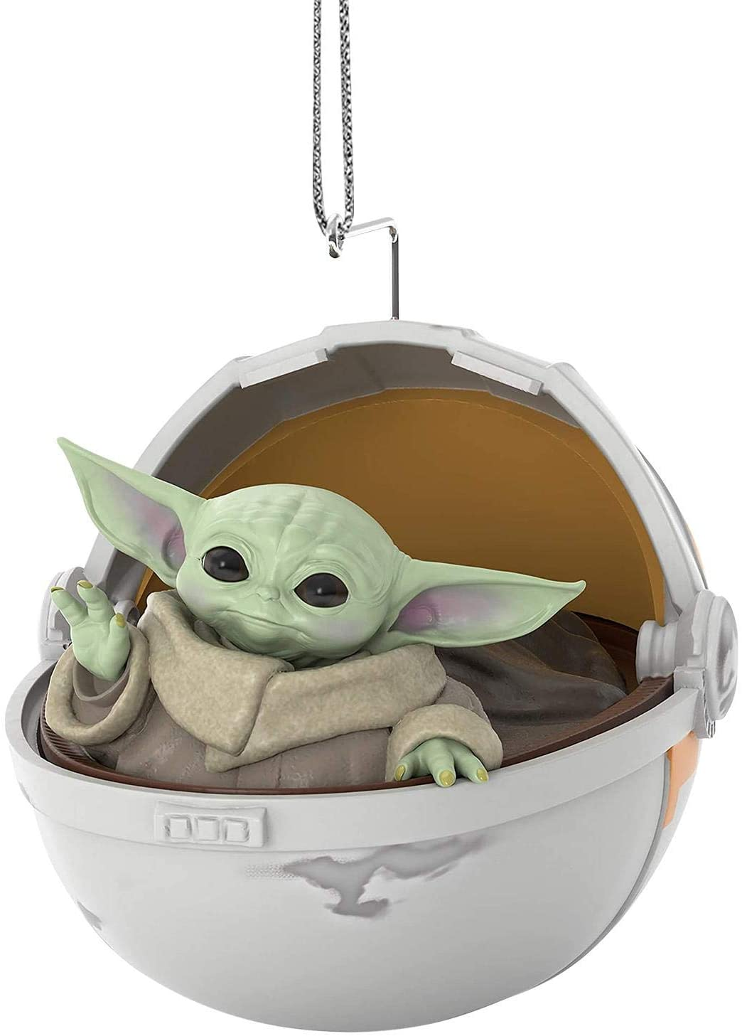 Baby Yoda from The Mandalorian Doll Christmas Ornament