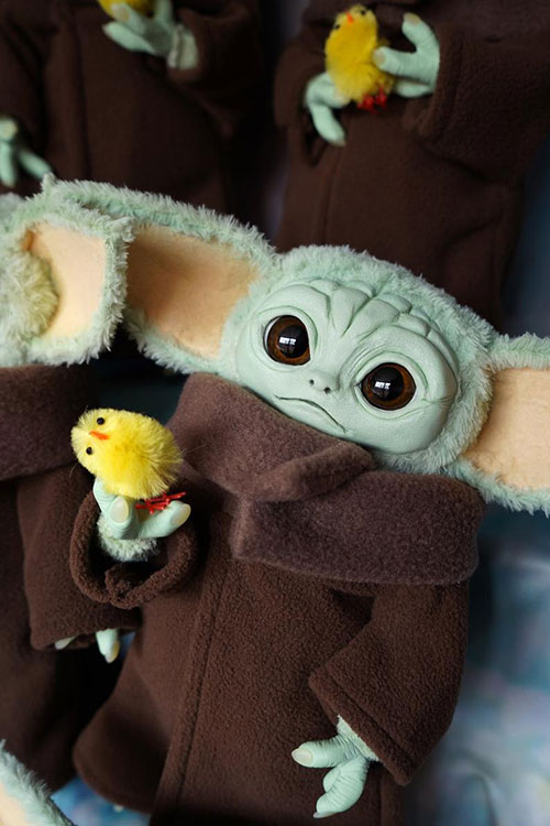 Baby Yoda from The Mandalorian Doll