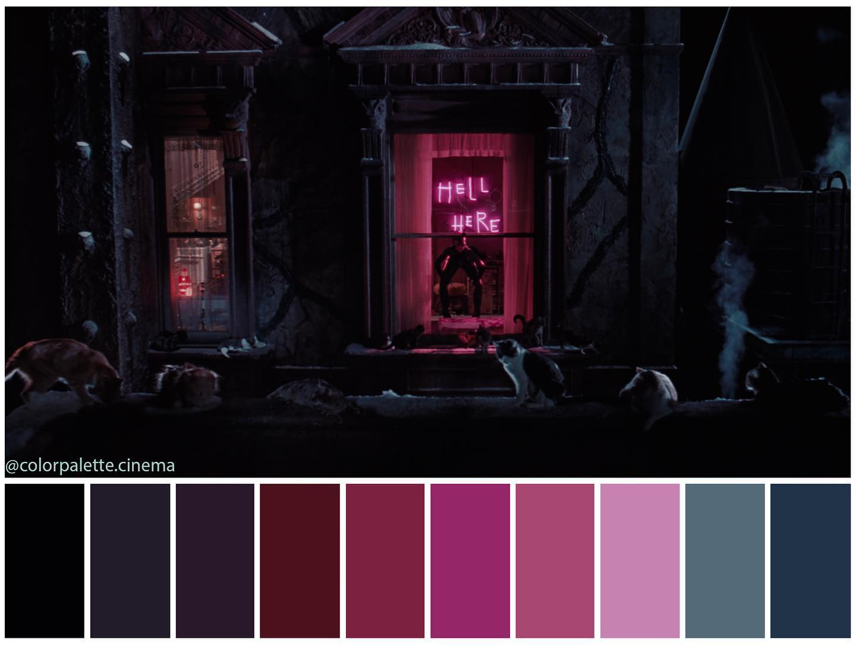 Batman Returns Color Palette