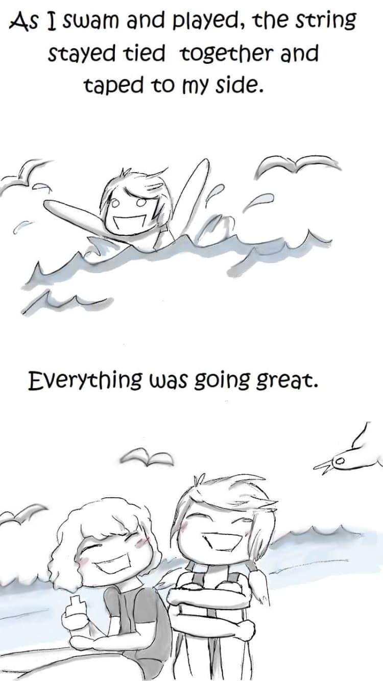 Beach Day Gone Wrong Comic