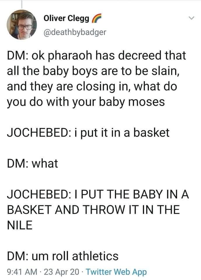 Bible Dungeons & Dragons