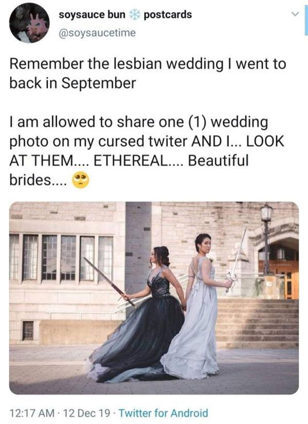 Bisexuals of the Blade Wedding