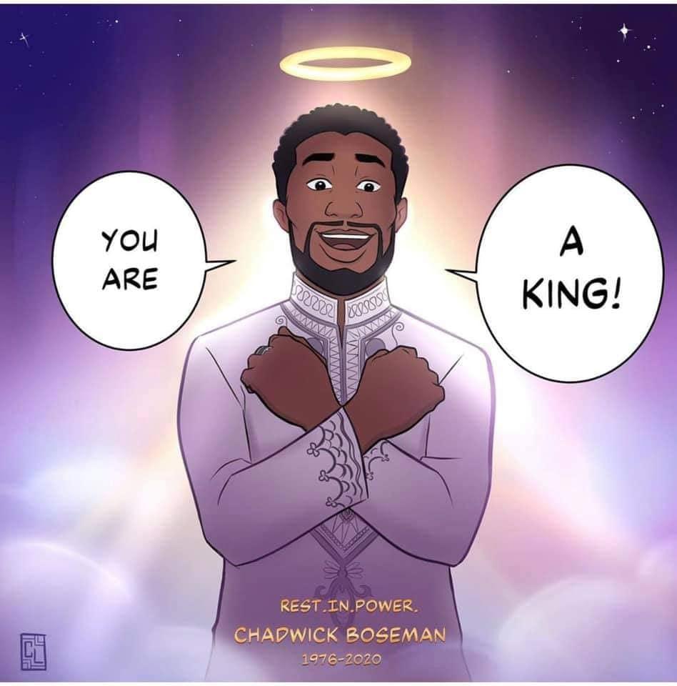 Rest in Power Chadwick Boseman