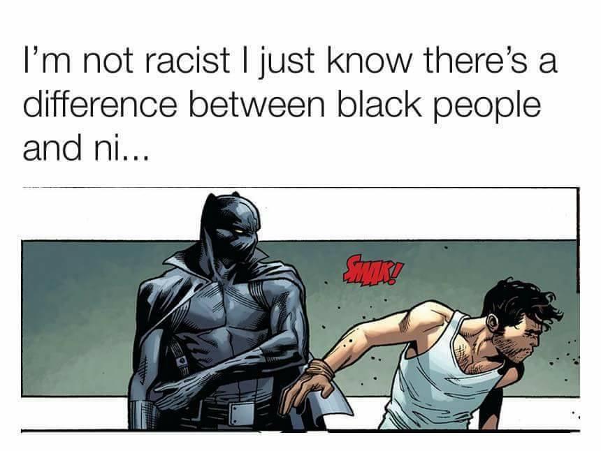 Black Panther Slaps