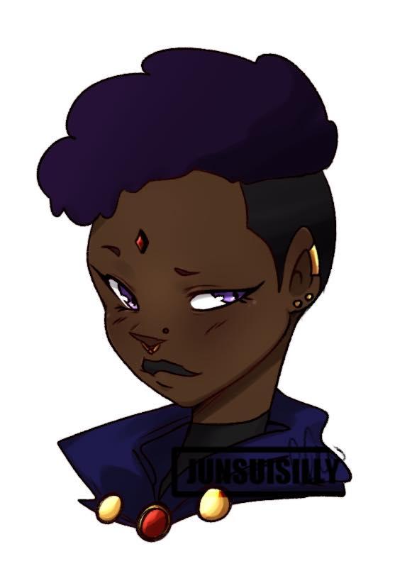 Black Teen Titans Fan Art