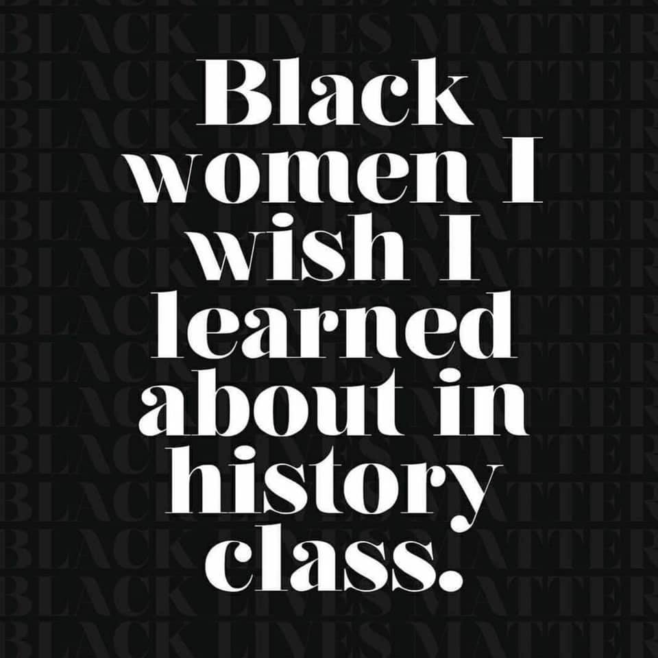 Black Women I Wish I Learned About in History Class