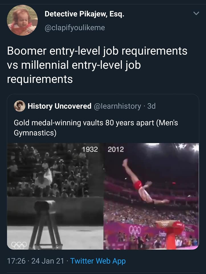 Boomer vs Millennial Work