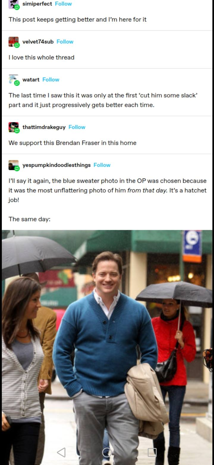 Brendan Fraser Appreciation Post