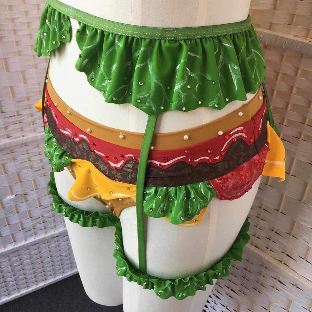 Sexy Burger Lingerie