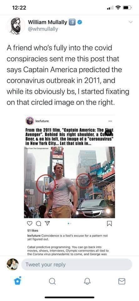 Debunking the Captain America Coronavirus Conspiracy