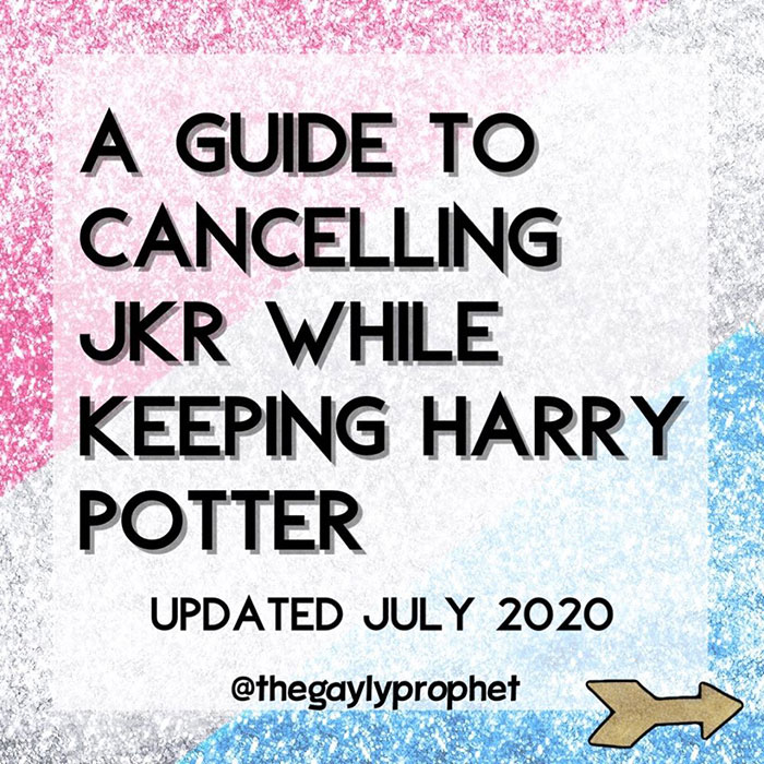 A Guide to Cancelling JKR While Keeping Harry Potter