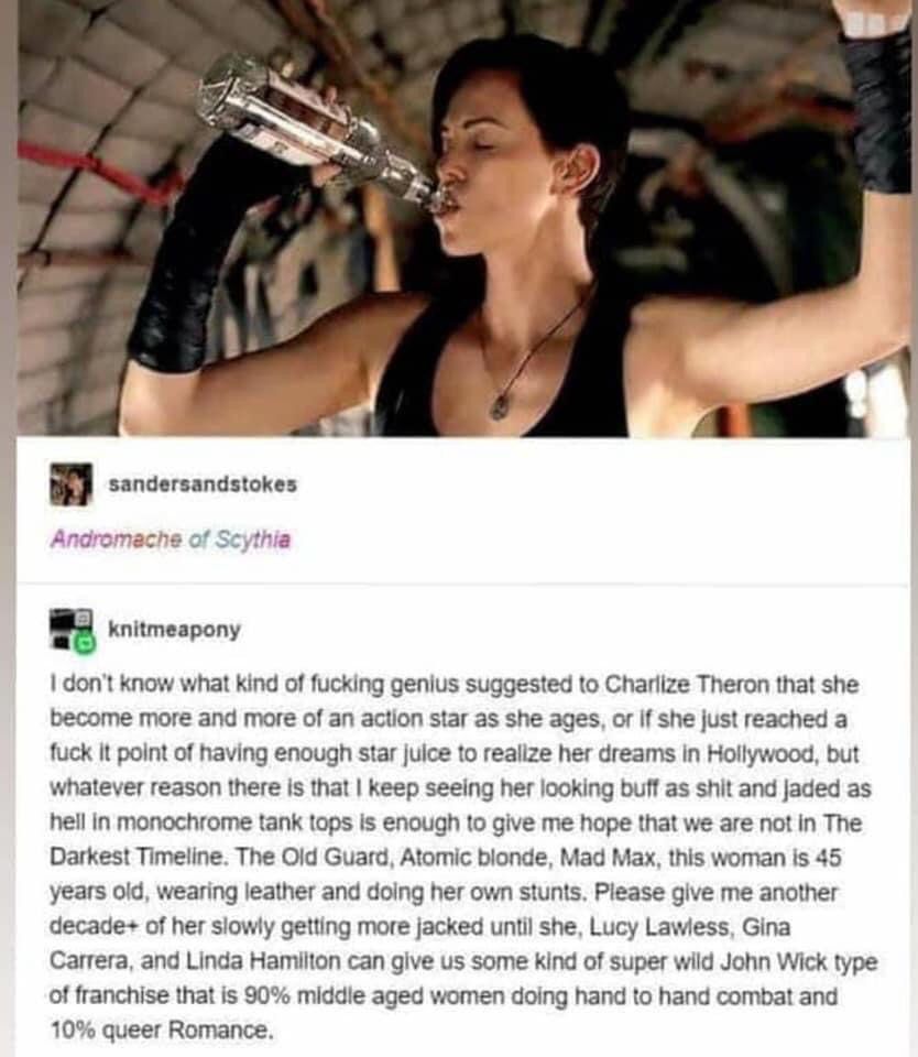 Charlize Theron Is the Action Star We Need