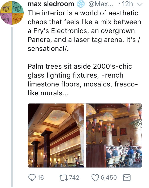 The Cheesecake Factory is a Postmodern Design Hellscape