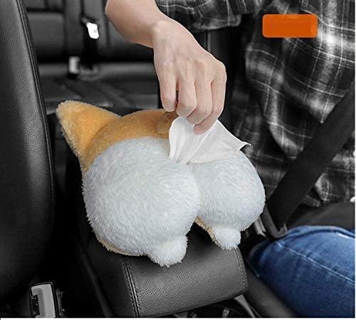 Corgi Butt Car Tissue Holder