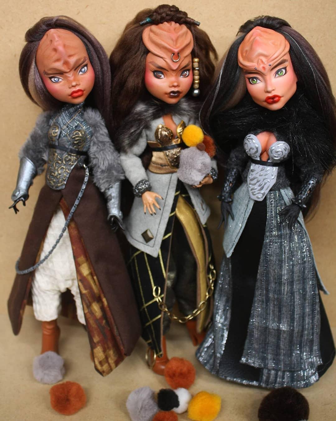 Custom Geek Pop Culture Dolls