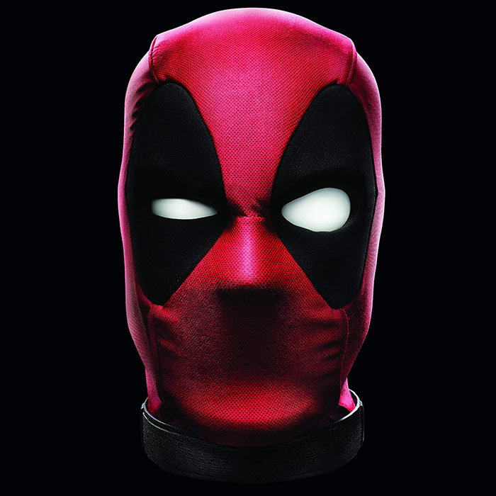 Interactive Moving Talking Electronic Deadpool Head