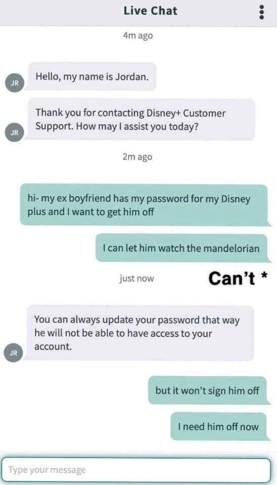Disney+ Support Love Story