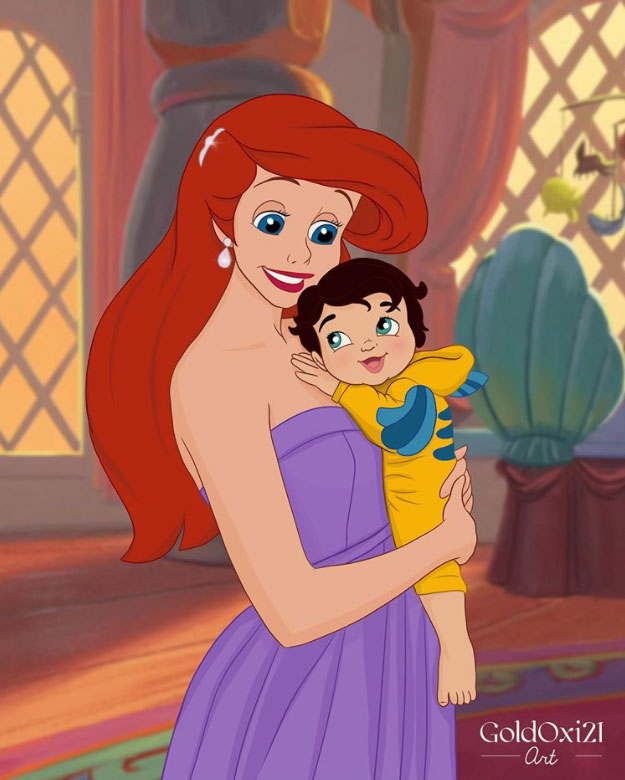 Disney Princesses After Their Happily Ever After