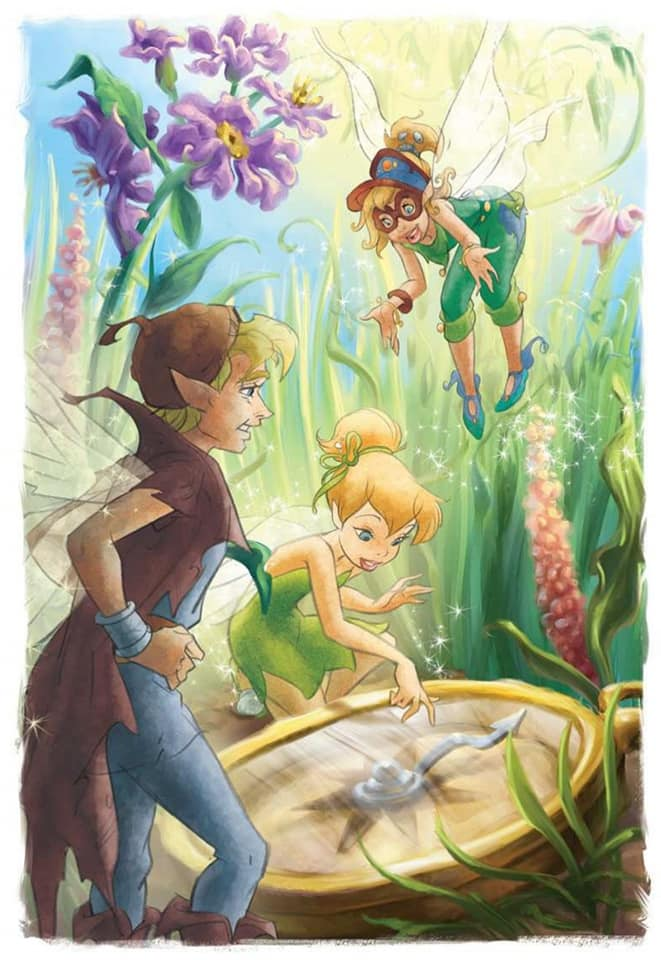 Disney Fairies Book Art