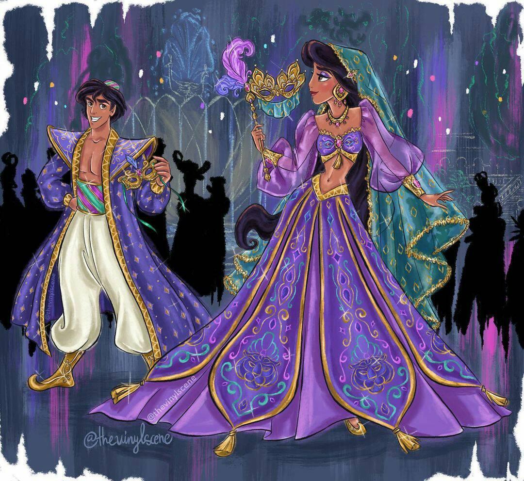 Disney Designer Collection Midnight Masquerade Fan Art