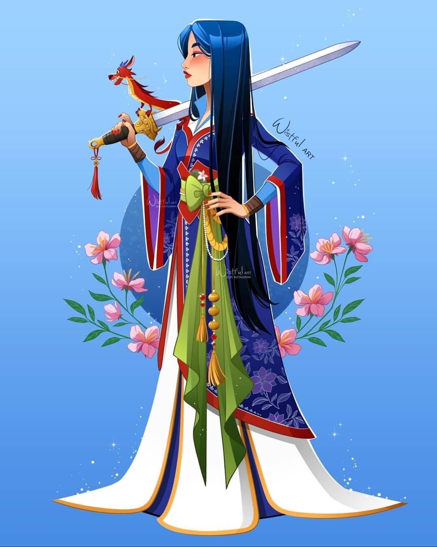Disney Princess Fan Art Redesigns