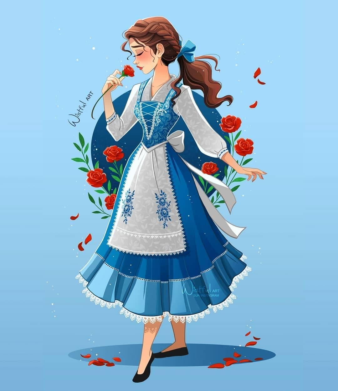 Disney Princess Fan Art Redesigns