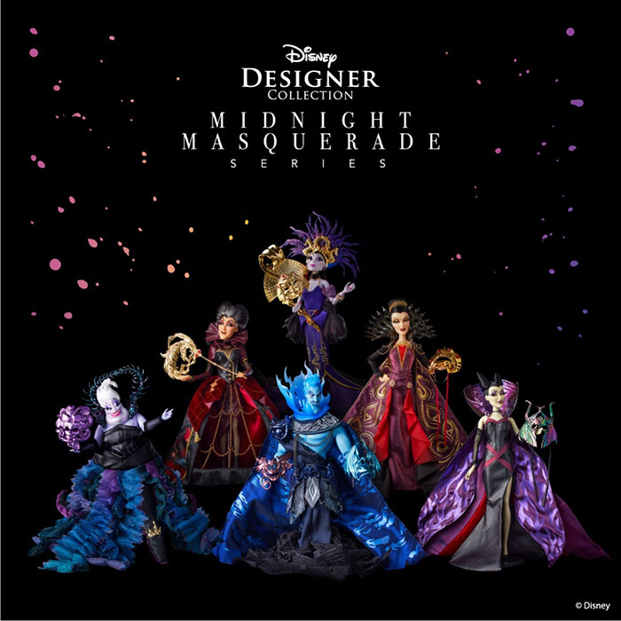 Disney Villains Midnight Masquerade Ball Dolls