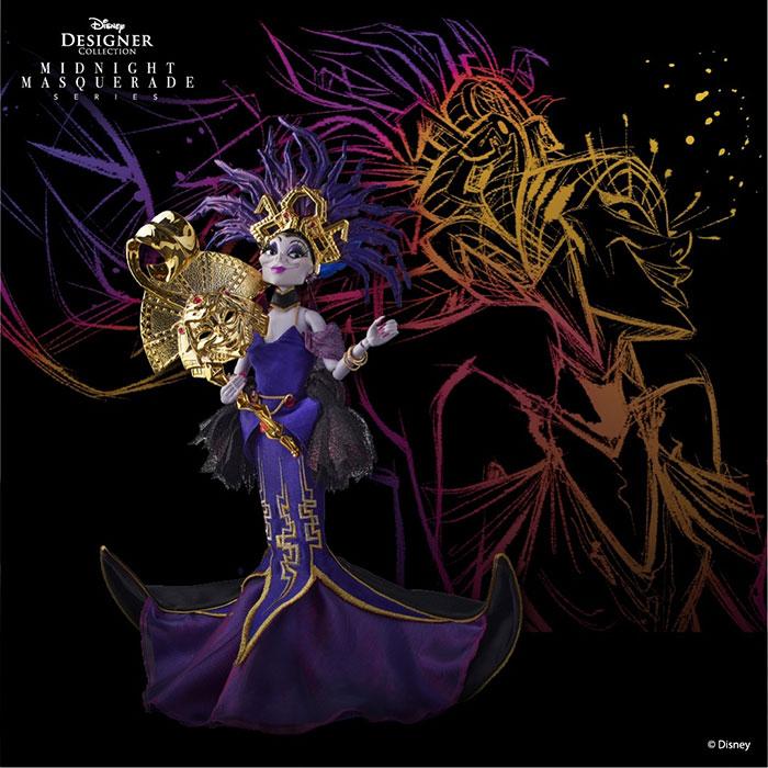 Disney Villains Midnight Masquerade Ball Dolls