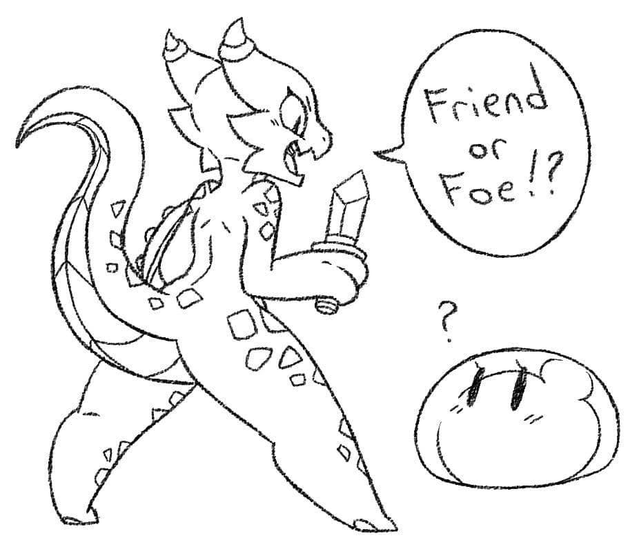Friend or Foe Comic